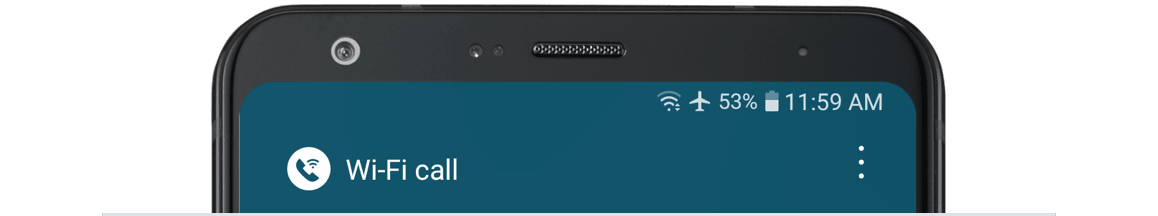 How do I use WiFi calling on an Android device?