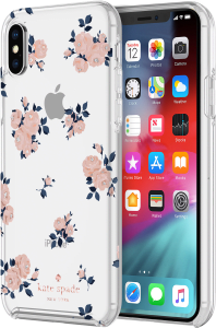 389f348e1b1a kate spade Apple iPhone XS Max Protective Hardshell - Happy Rose