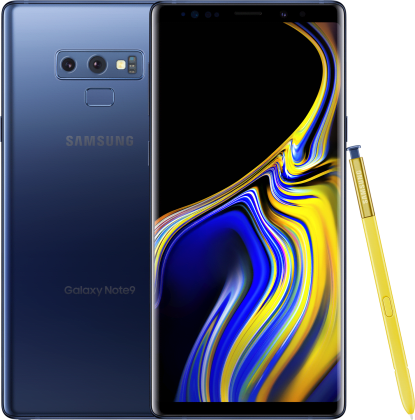 samsung galaxy note9 from xfinity mobile in ocean blue