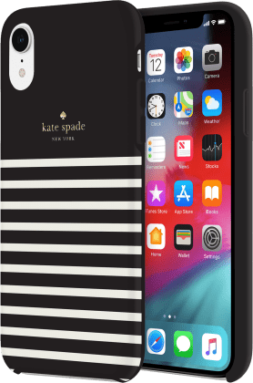 new product 1e05a 4ee9e Kate Spade Apple iPhone XR Soft Touch Comold